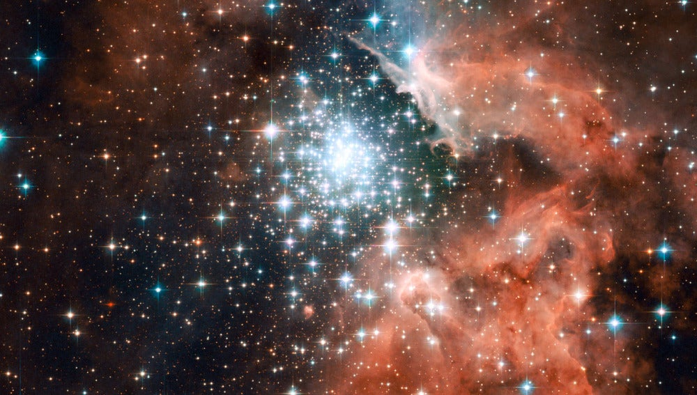 Región del universo en la que se están creando estrellas