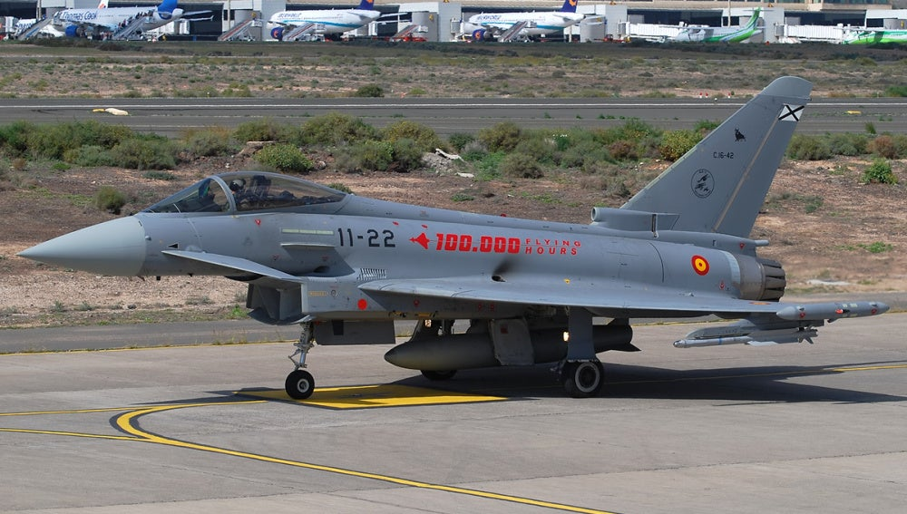 Eurofighter Typhoon del ejercito español