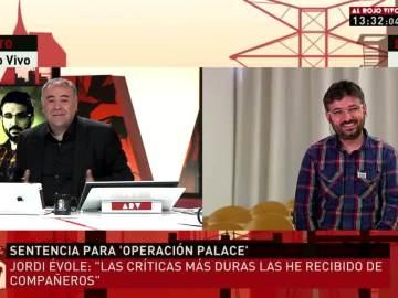 Jordi Évole con Ferreras en ARV