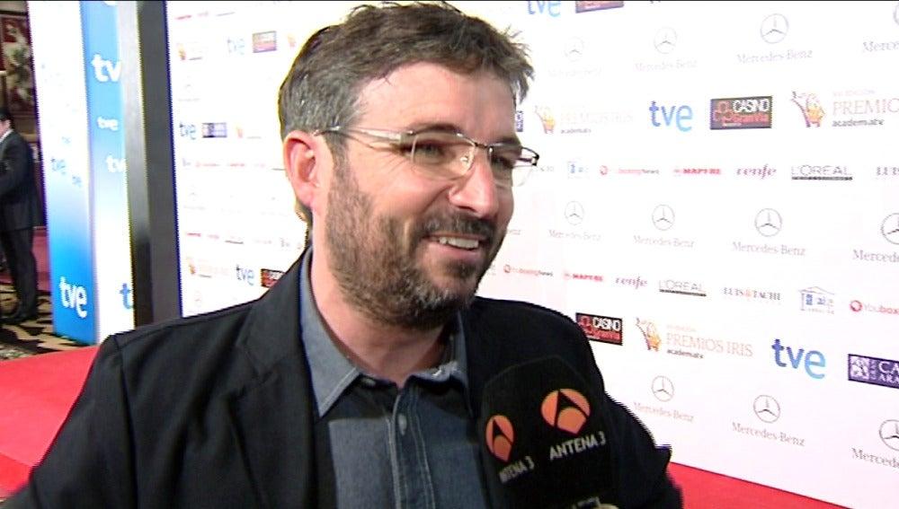 Jordi Évole en los Premios Iris