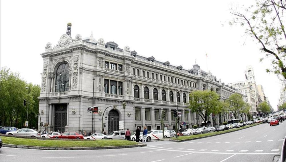 Imagen de la fachada del Banco de España