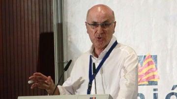 El líder de Unió, Josep Antoni Duran Lleida, durante su intervención en el Consell Nacional
