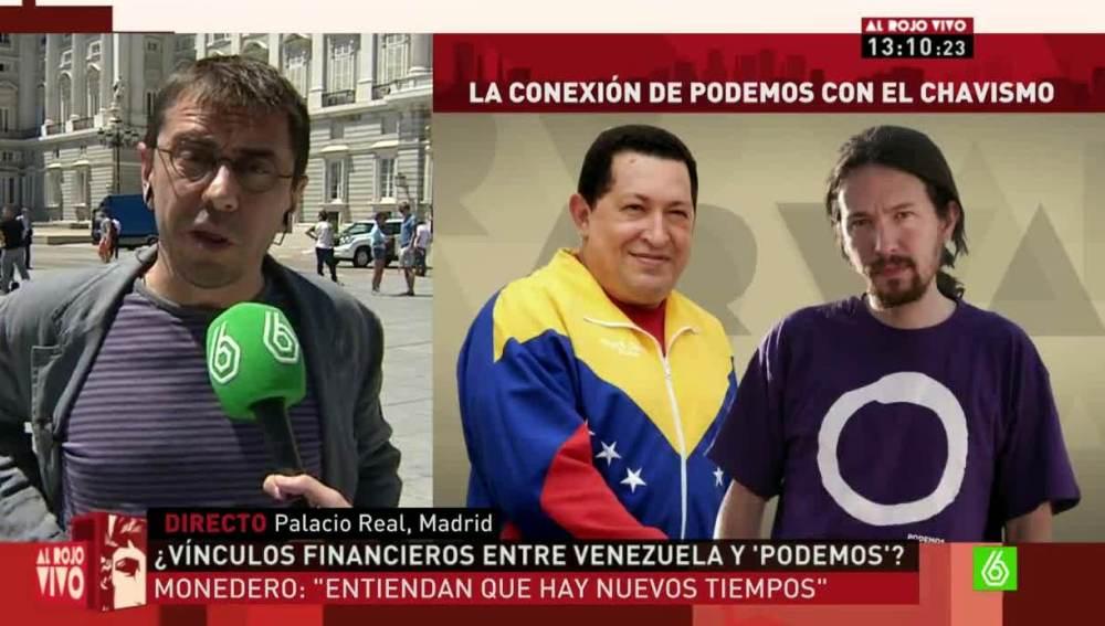 Monedero habla sobre la financiación de Podemos