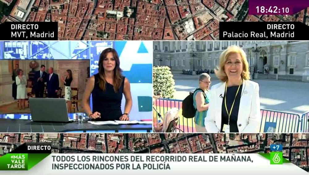 Carmen Enríquez habla para MVT