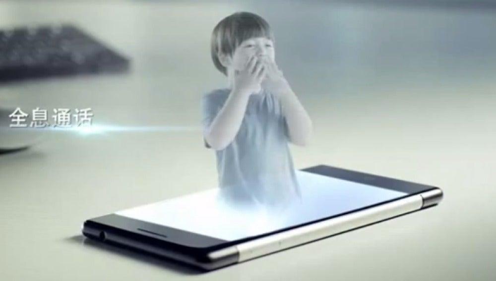Estar Takee, un móvil con efectos holográficos