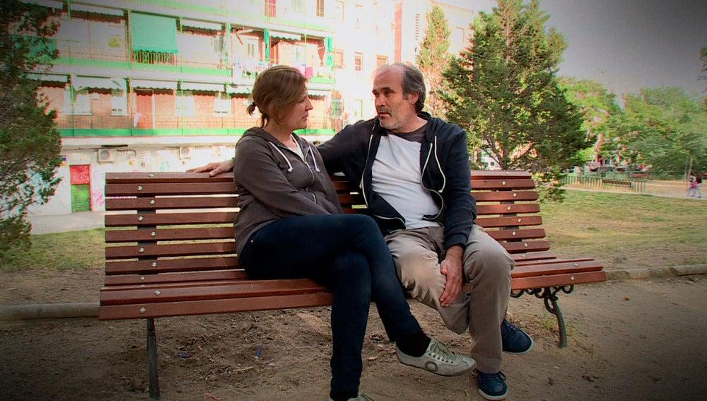 Alicia y Javier en Millonario Anónimo
