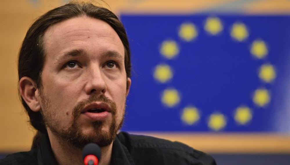 Pablo Iglesias, eurodiputado de Podemos