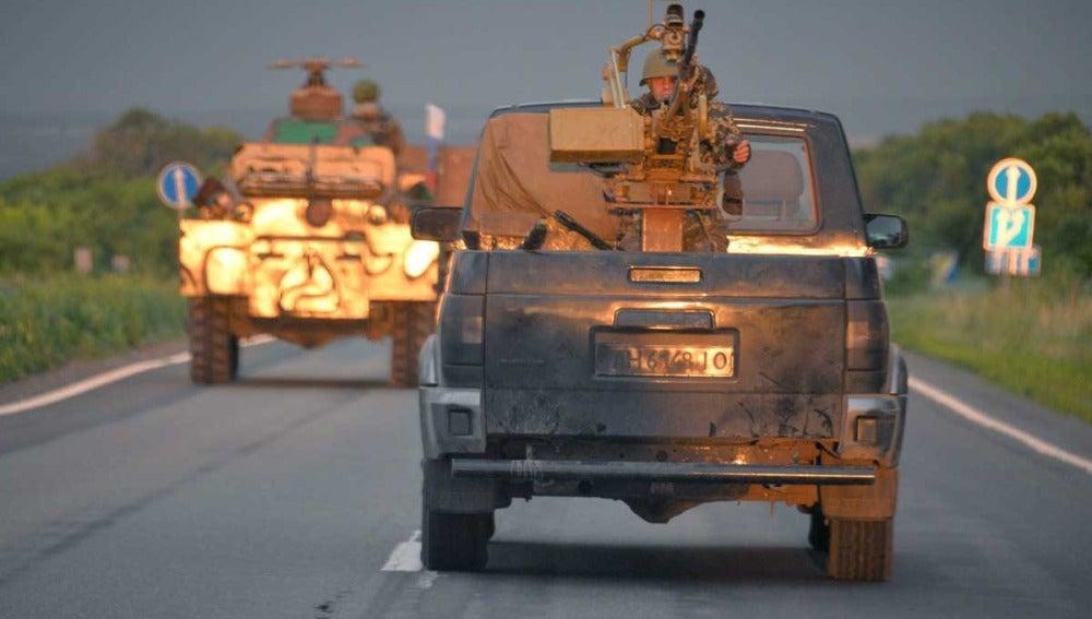 Convoy de Slaviansk a Donetsk