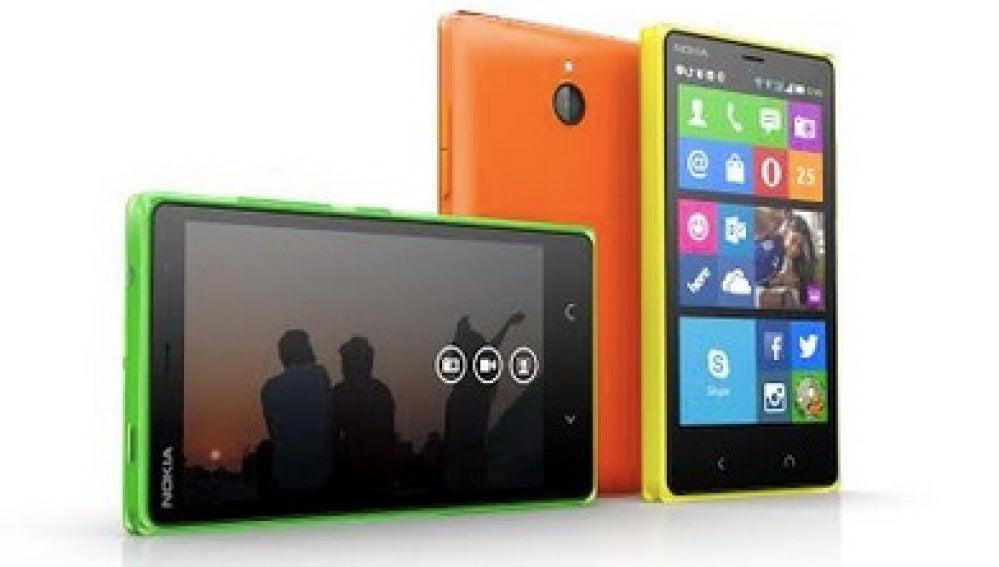El Nokia X2, un portento de la gama baja