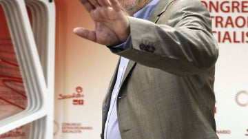 Antonio Pérez Tapias, candidato a la Secretaría General del PSOE