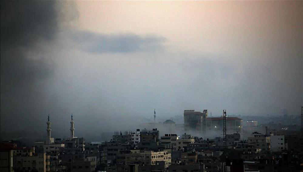 Ascienden a 76 los fallecidos en Gaza desde inicio de la ofensiva israelí