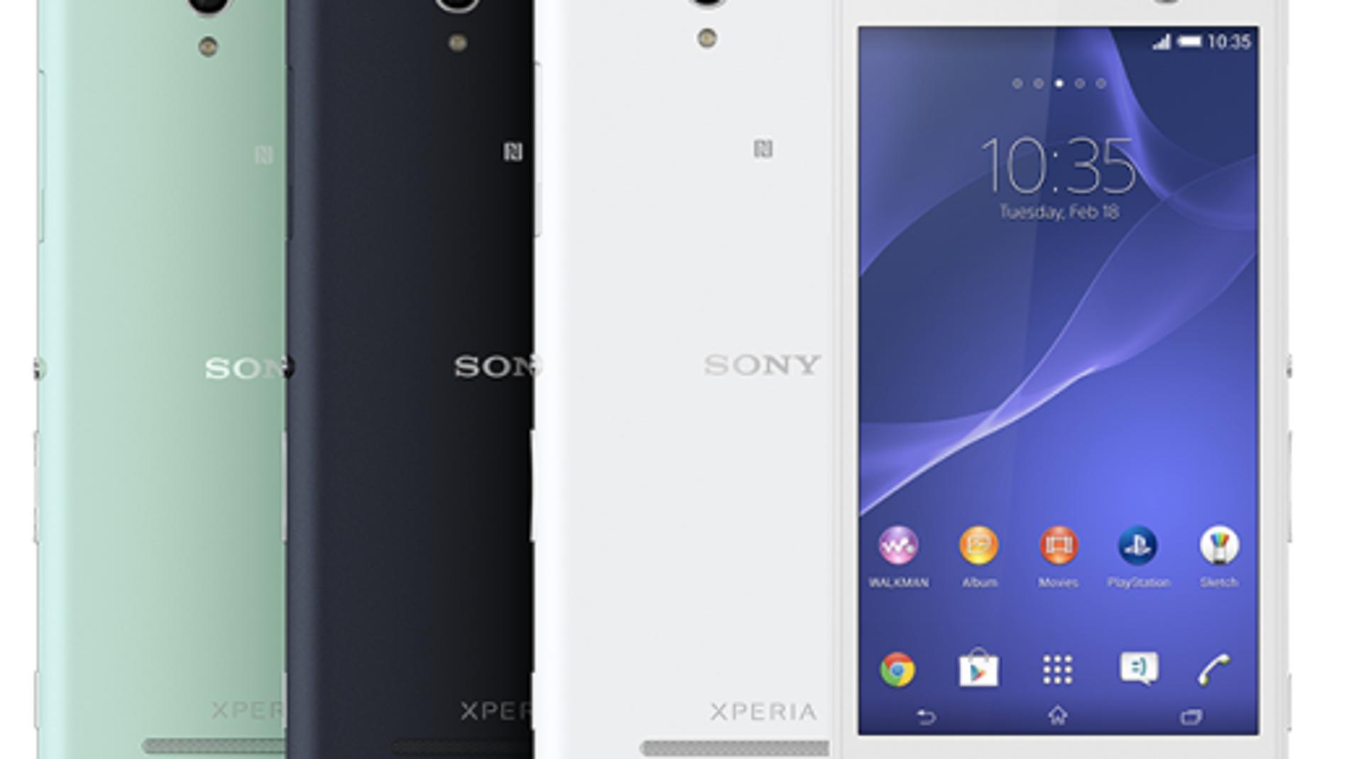 Si te molan los 'selfies' Sony te lo pone fácil con su Xperia C3