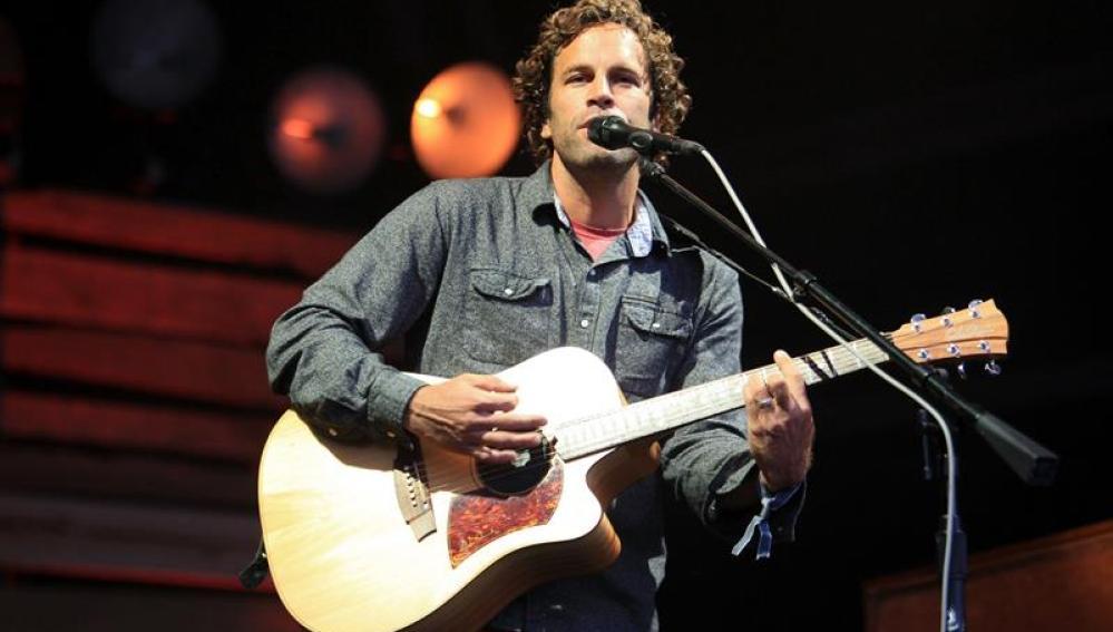 El cantautor Jack Johnson durante su actuación en el BBK Live