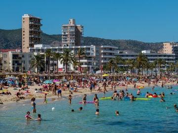 Buen tiempo en las playas de Mallorca