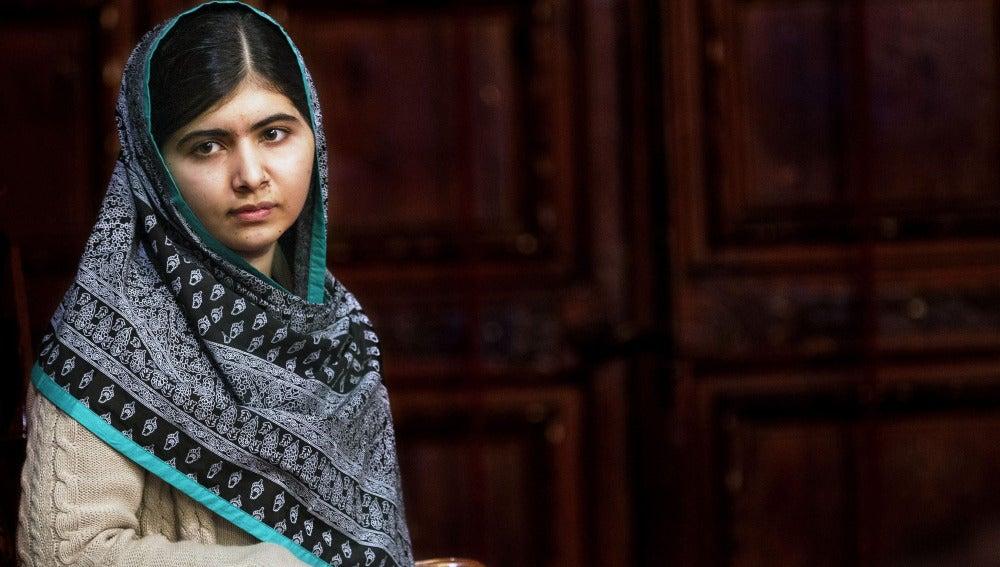 La joven paquistaní Malala