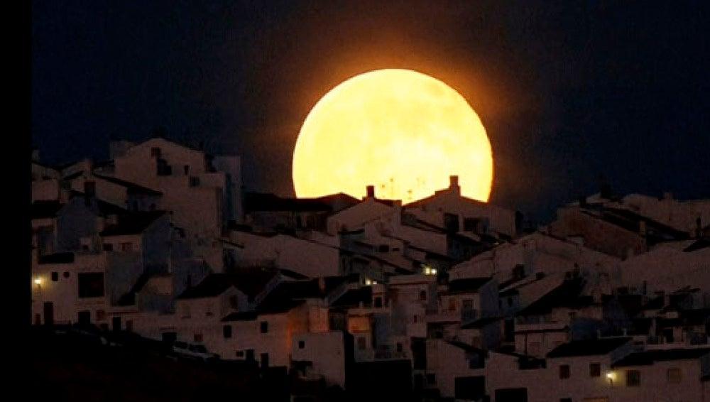 La superluna del 12 de julio