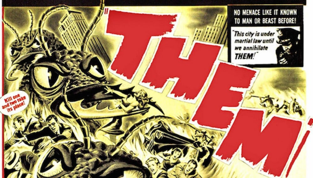 "Cartel de la película ""Them"" (1954)"