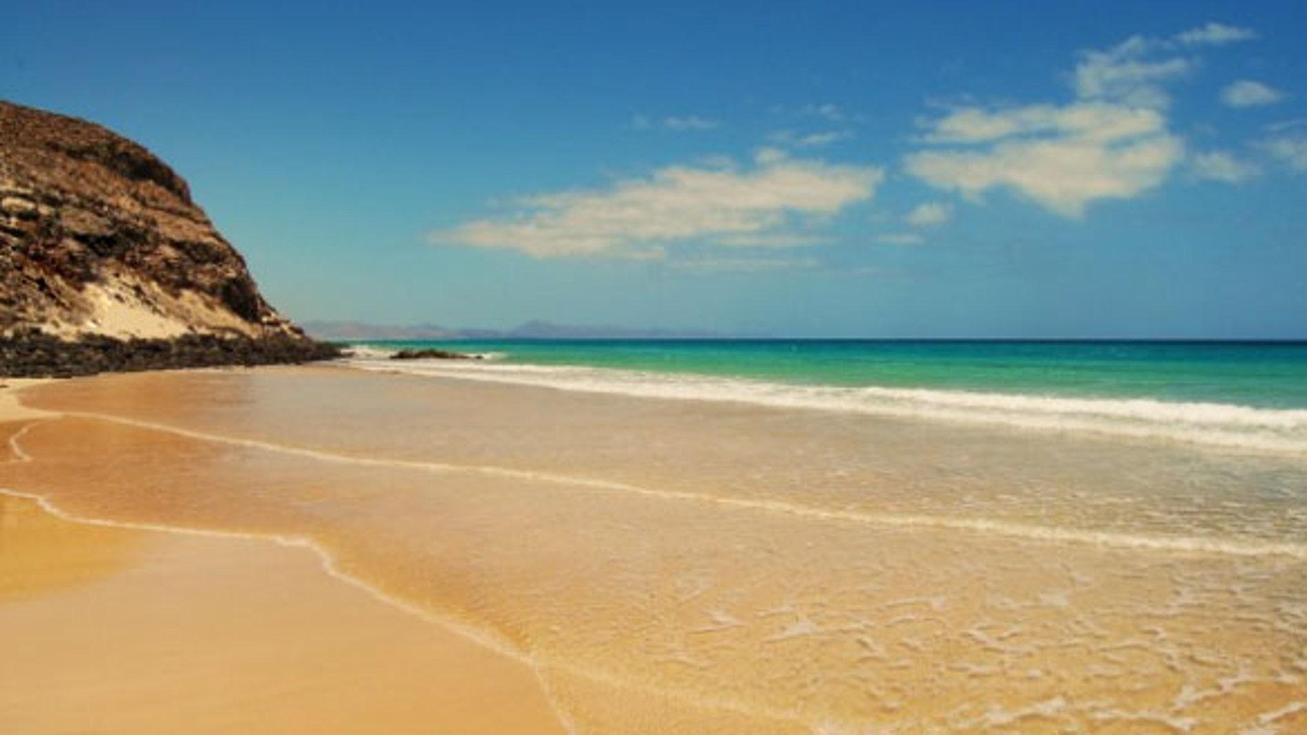 Las exóticas playas solitarias de Fuerteventura