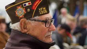 Un veterano de la Segunda Guerra Mundial