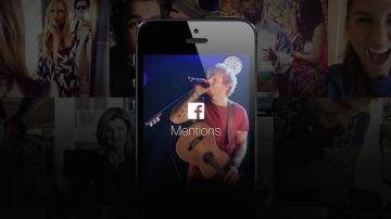 La nueva aplicación de Facebook es solo apta para famosos