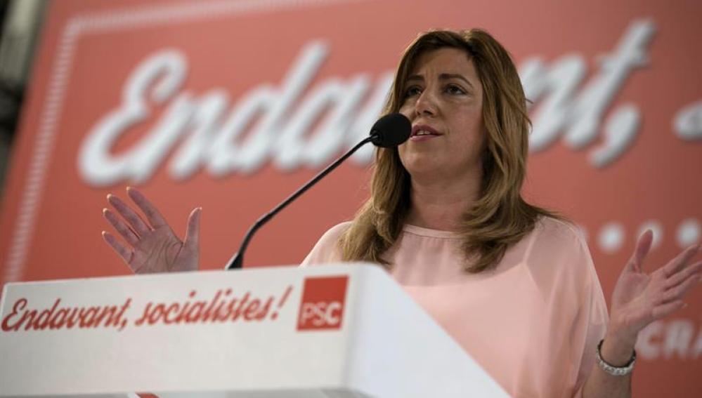 """Susana Diaz pide la convocatoria """"inmediata"""" de la comisión del Congreso para la reforma constitucional"""