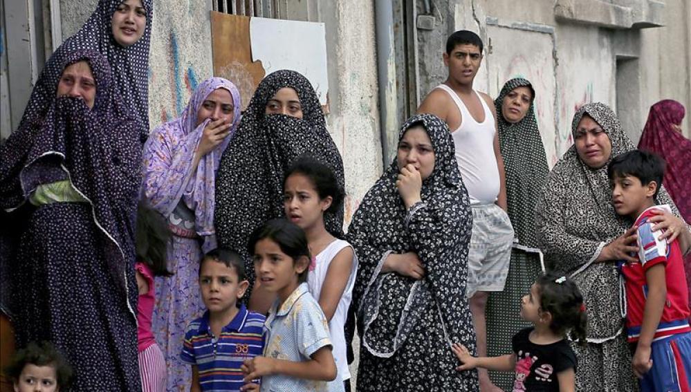 Más de 300 palestinos muertos en la ofensiva israelí