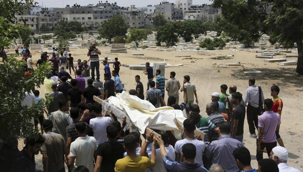 Un funeral en Gaza