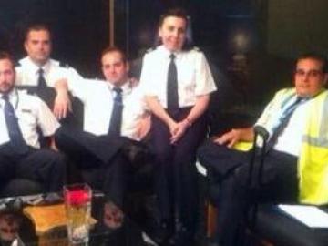 La tripulación del avión desaparecido de Swiftair