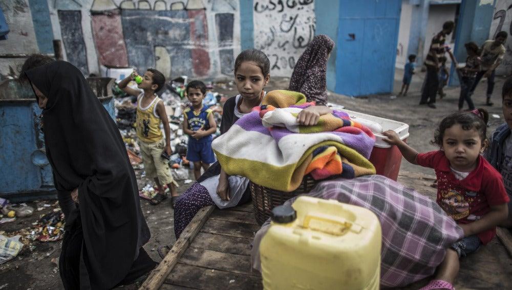Los menores de Gaza, víctimas de ataques israelíes