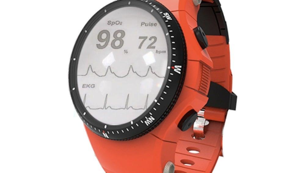 Reloj de seguimiento médico desarrollado por IMASD