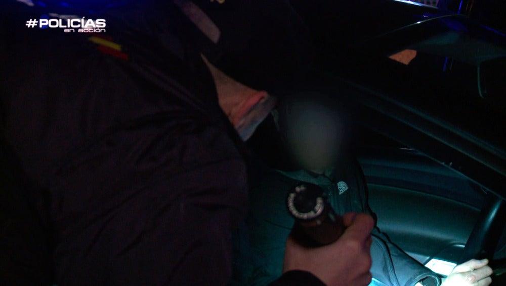 Control de policía en 'Policías en acción'