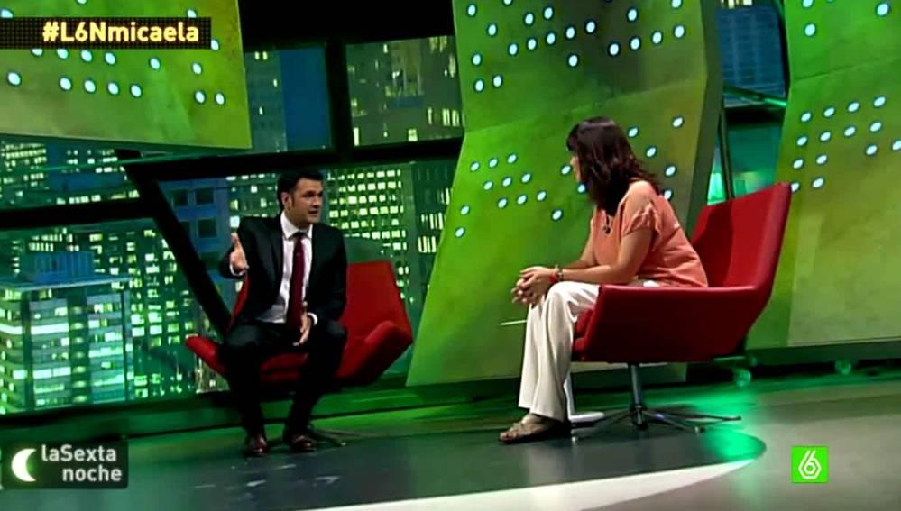 Micaela Navarro con Iñaki López, entrevista completa