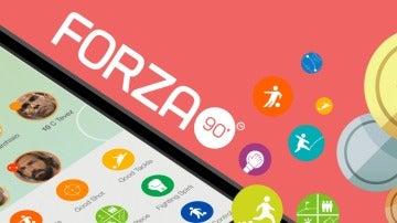 Imagen promocional de la app Forza'90
