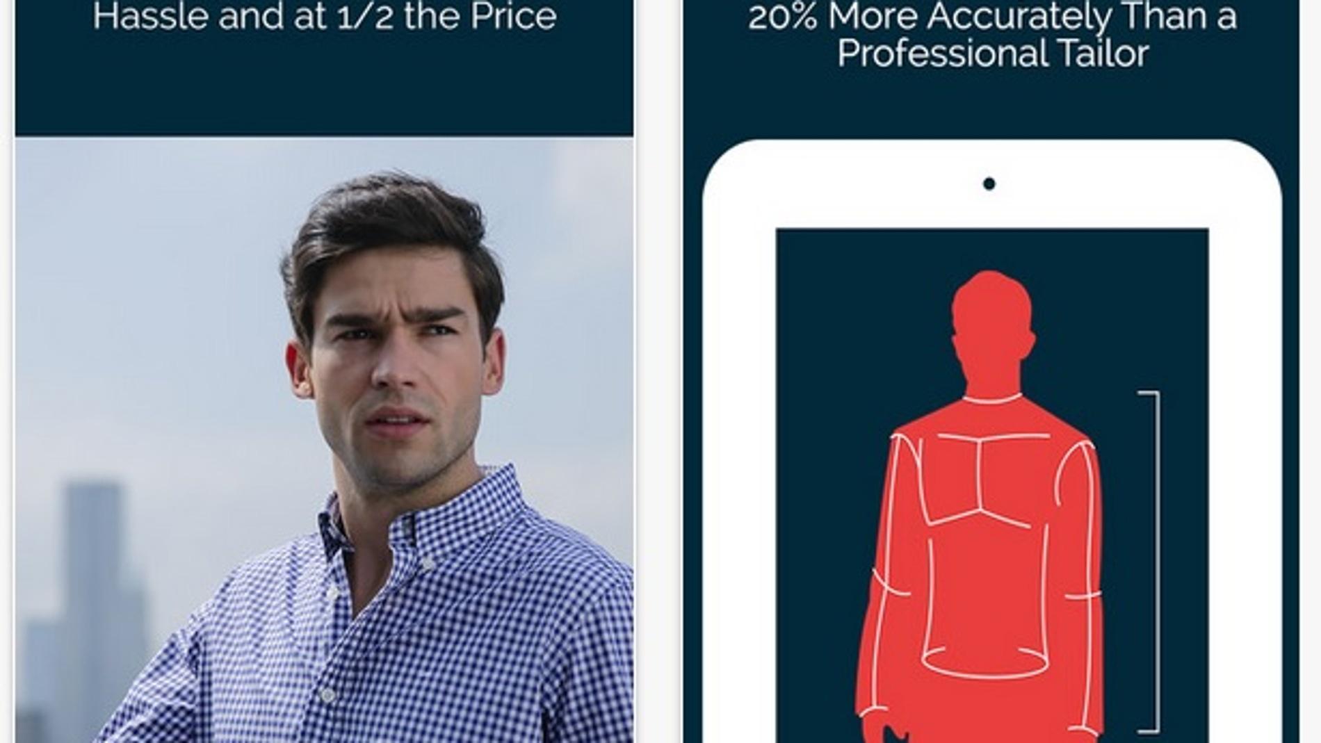 MTailor, una app para hacer camisas a medida