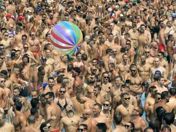 Fiesta Gay en Isla Fantasía, Barcelona