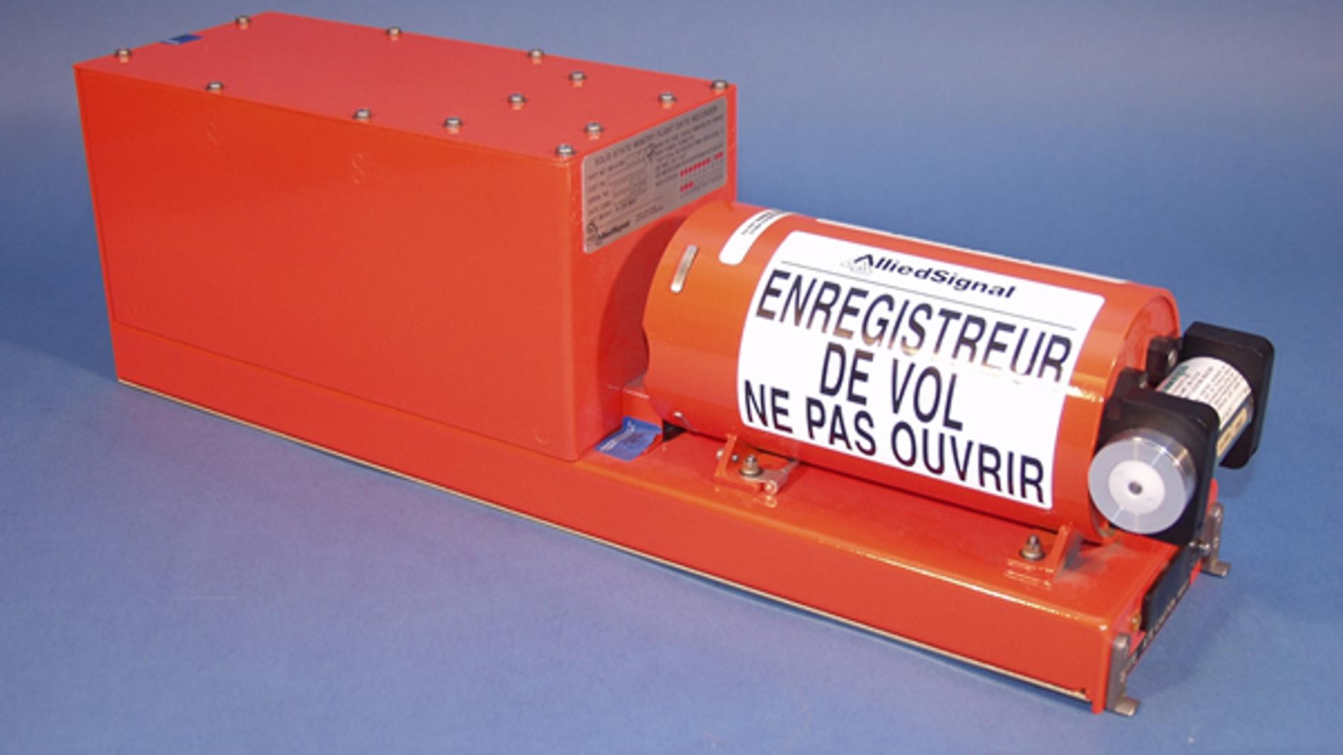 Modelo de caja de registro aéreo