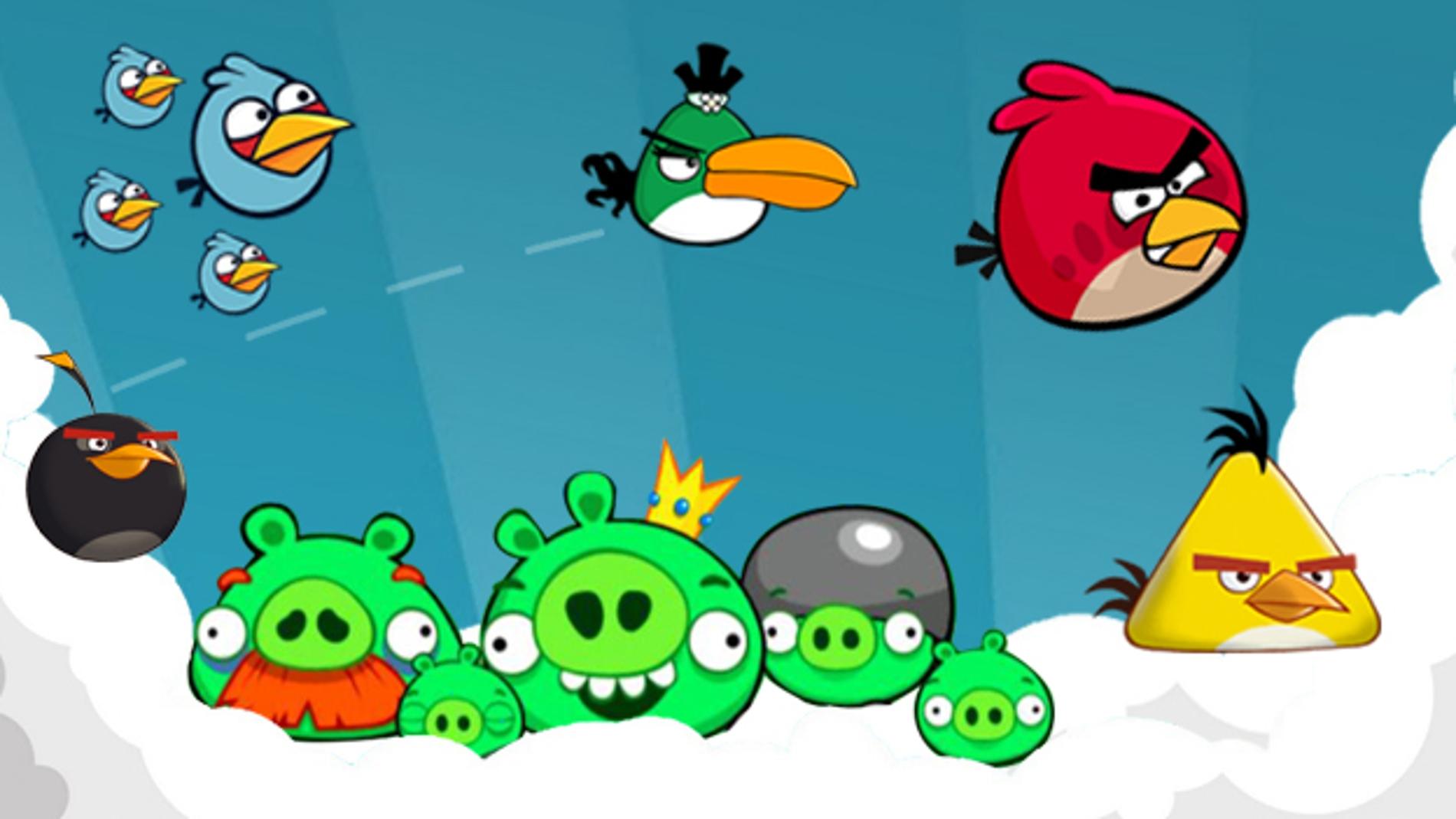 Montaje Angry Birds