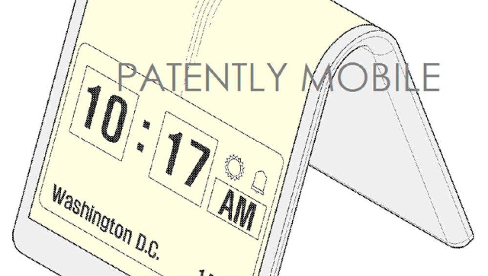 Patente del móvil de Samsung