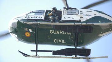 Helicóptero del GREIM