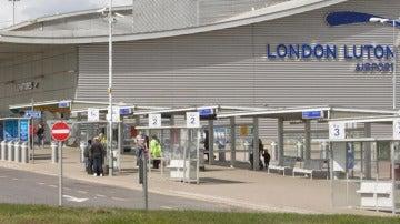 El aeropuerto de Luton, en Londres