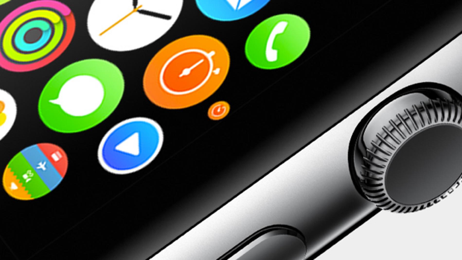Así es la pantalla del Apple Watch
