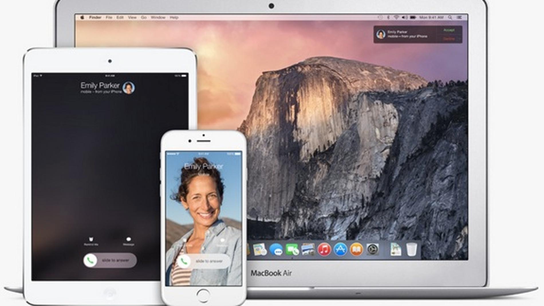 Mac, iPhone y iPad, más amigos que nunca