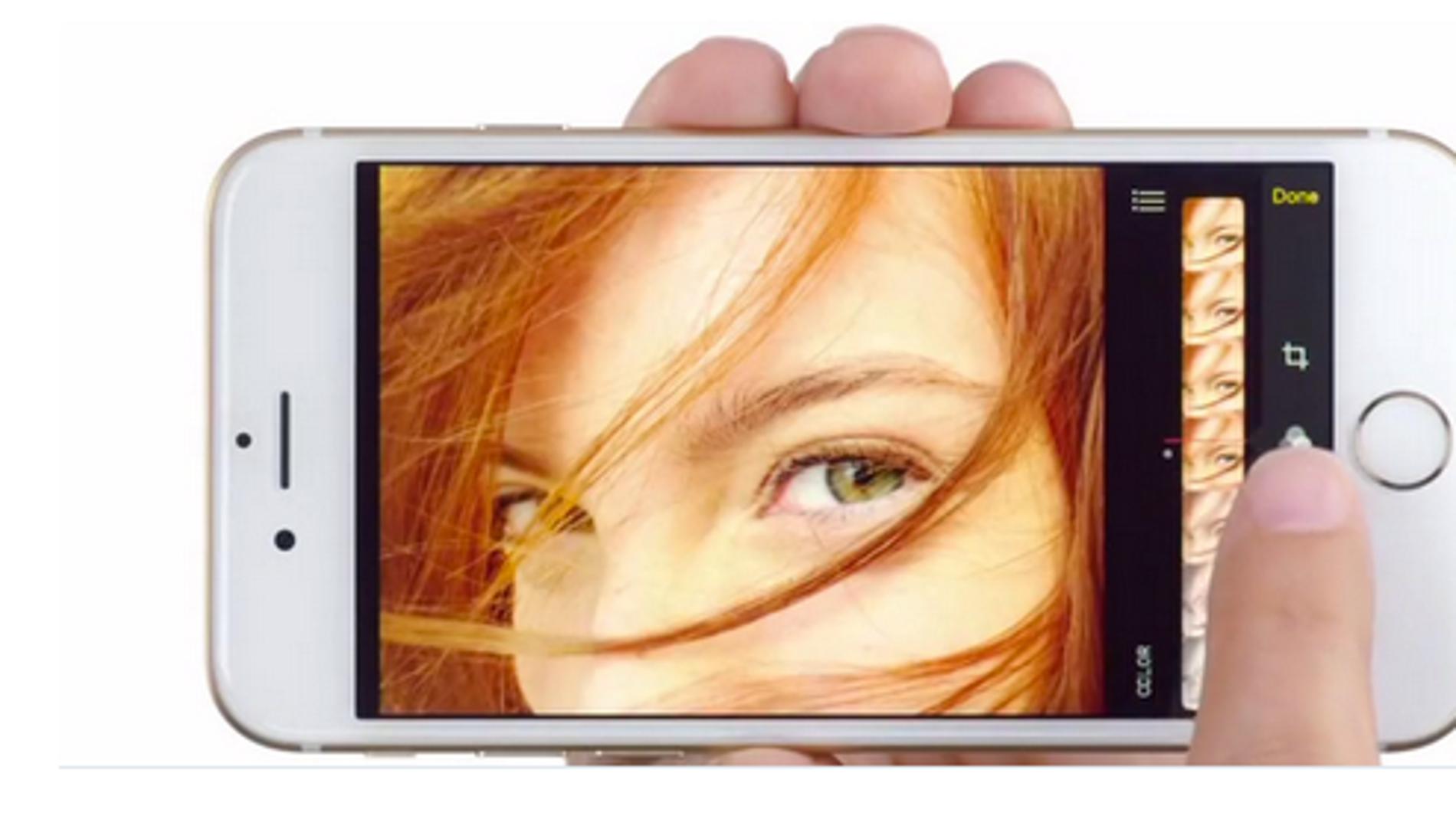 El iPhone 6 se adapta a la vista horizontal