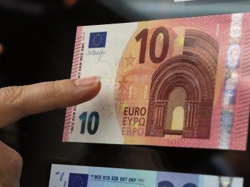 El nuevo billete de 10 euros
