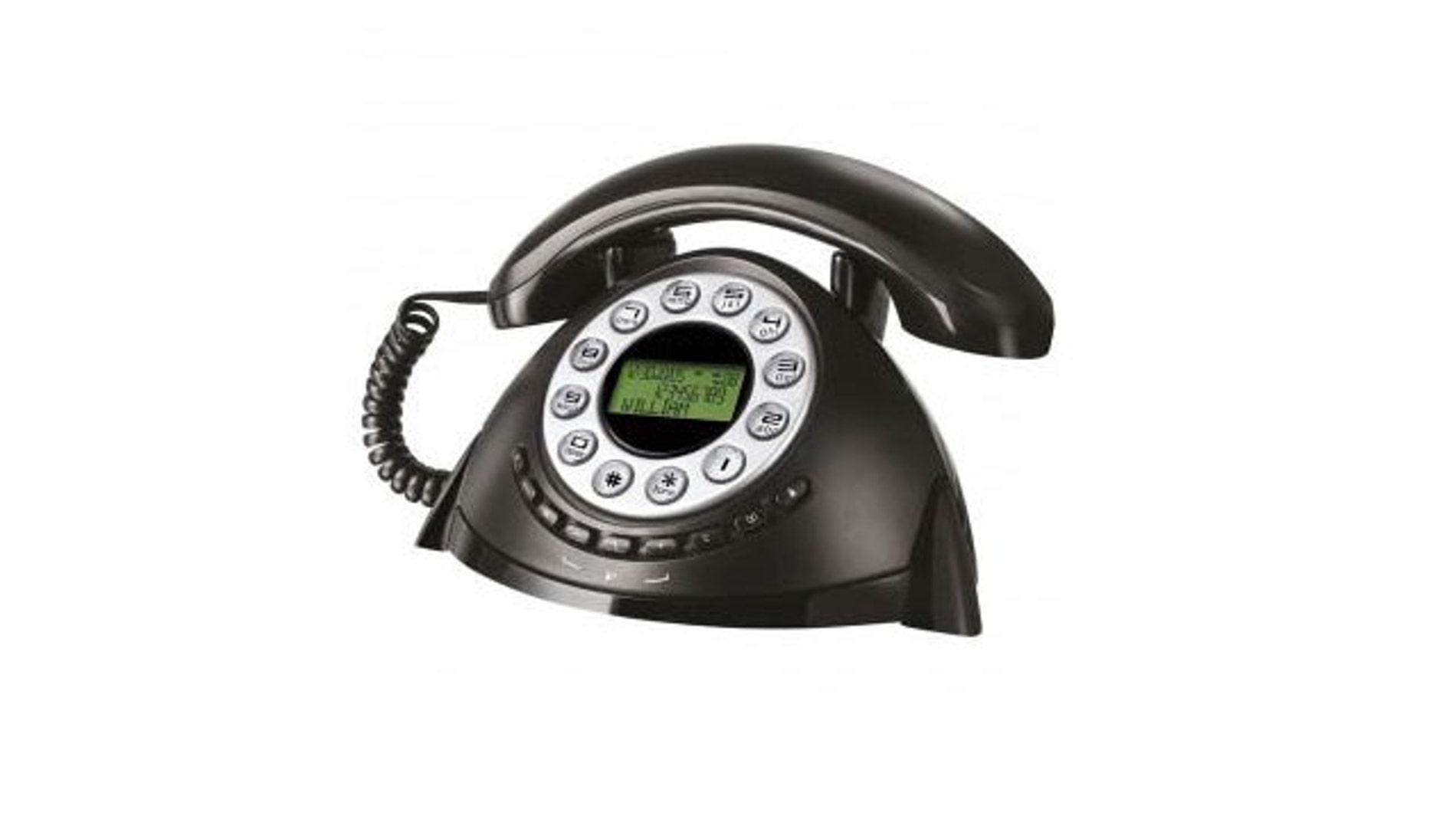 Teléfono fijo retro