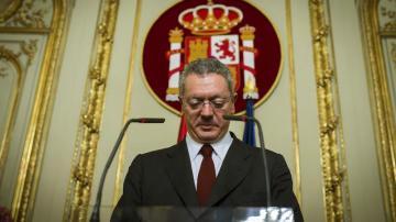 Alberto Ruiz-Gallardón anuncia su dimisión como ministro de Justicia
