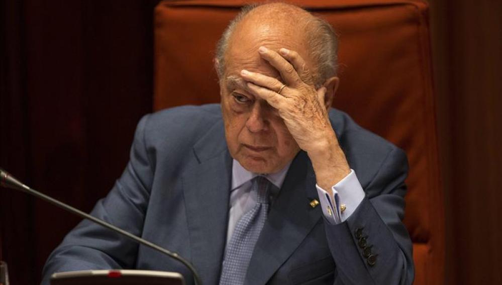 Jordi Pujol en el Parlament