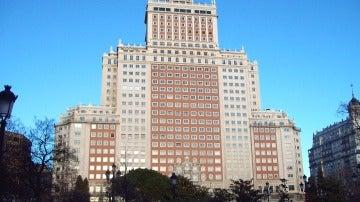 Edificio España en Madrid