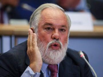 Miguel Arias Cañete en la audiencia de idoniedad