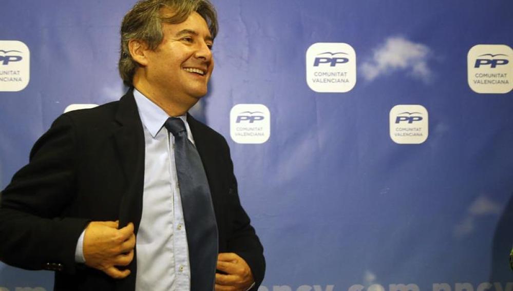 Rubén Moreno, portavoz del PP de Sanidad en el Congreso